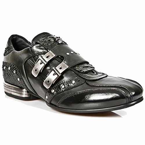 New Rock Snob Noir Chaussures M.2715-S3