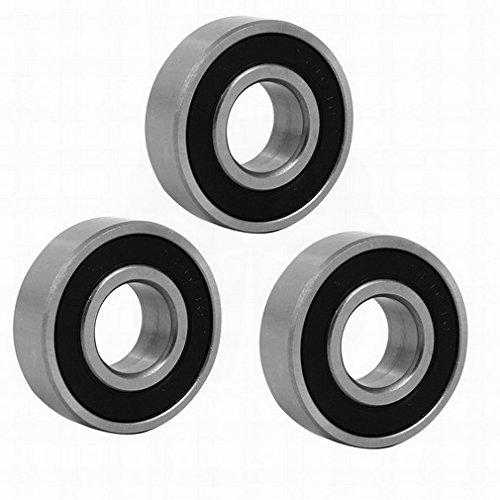 10 Pcs 40mm x 17mm x 12mm Miniature Deep Groove Ball Bearings 6203