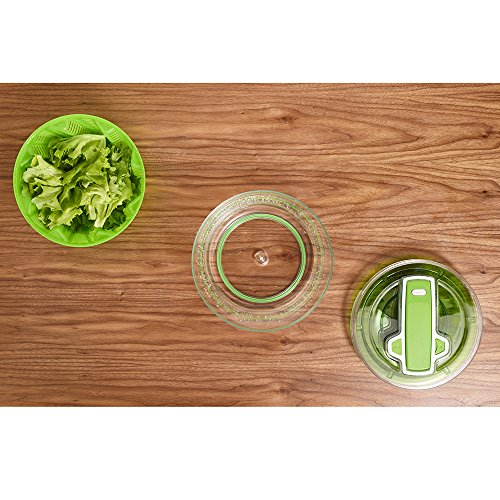 ZYLISS Swift Dry Salad Spinner, Small, Green by Zyliss (Image #7)