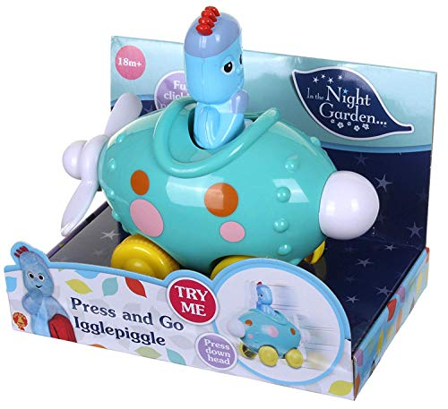 Bedtime Little Library in The Night Garden Action Figure Iggle Piggle Press and Go