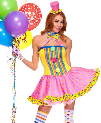 Circus Cutie Adult Costume - Plus Size 1X/2X -