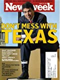 Newsweek April 26 2010 Texas Governor Rick Perry on Cover, Don't Mess With Texas, Texas Issue, Al Pacino/You Don't Know Jack (Kevorkian), Shanghai China, Catherine Keener, Yann Martel/Beatrice and Virgil