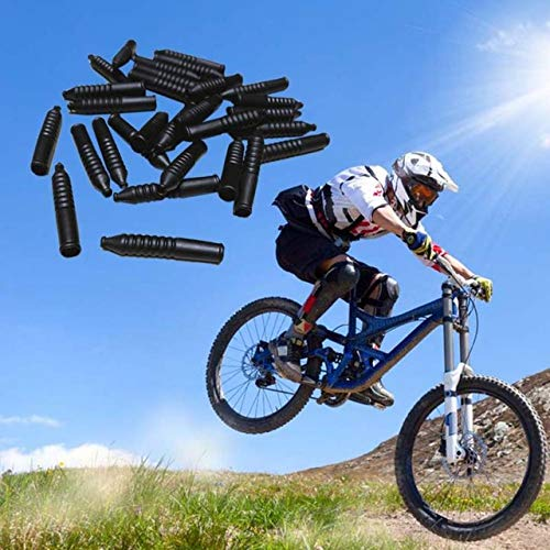 20pcs Bicycle MTB V-Brake Cable Pipes Noodles Rubber Boots Protective Cover