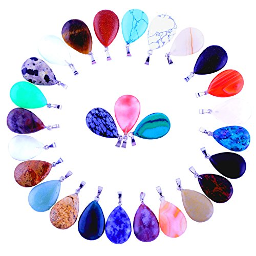 Healing Crystal Pendants Necklace Jewelry