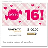 Amazon eGift Card - 16th Birthday (Sweet 16)
