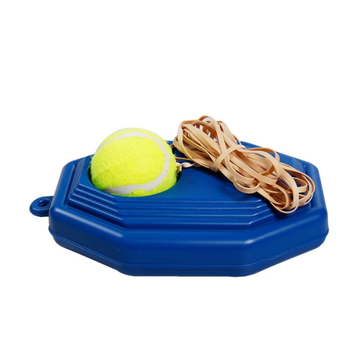 Allenatore da Tennis Portatile di Rimbalzo di Dimensioni Personalizzate Studio autonomo Set Tennis Pratico Allenamento per Principianti Esercitarsi Attrezzatura per i Partner