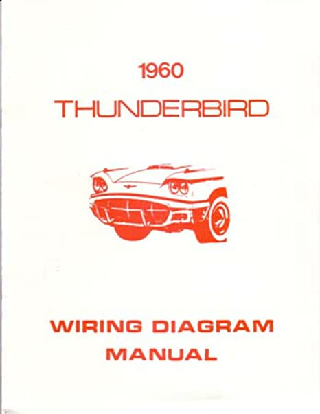 image unavailable  image not available for  color: bishko automotive  literature 1960 ford thunderbird electrical wiring diagrams schematics