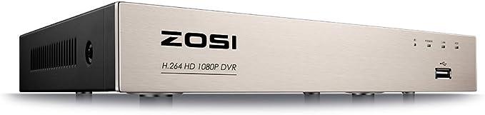 ZOSI 1080P FHD CCTV Video/überwachung System 8CH HDMI DVR Recorder mit 1TB Festplatte und 4X 2MP Bullet /Überwachungskamera Set f/ür Innen und Au/ßen 36M IR Nachtsicht