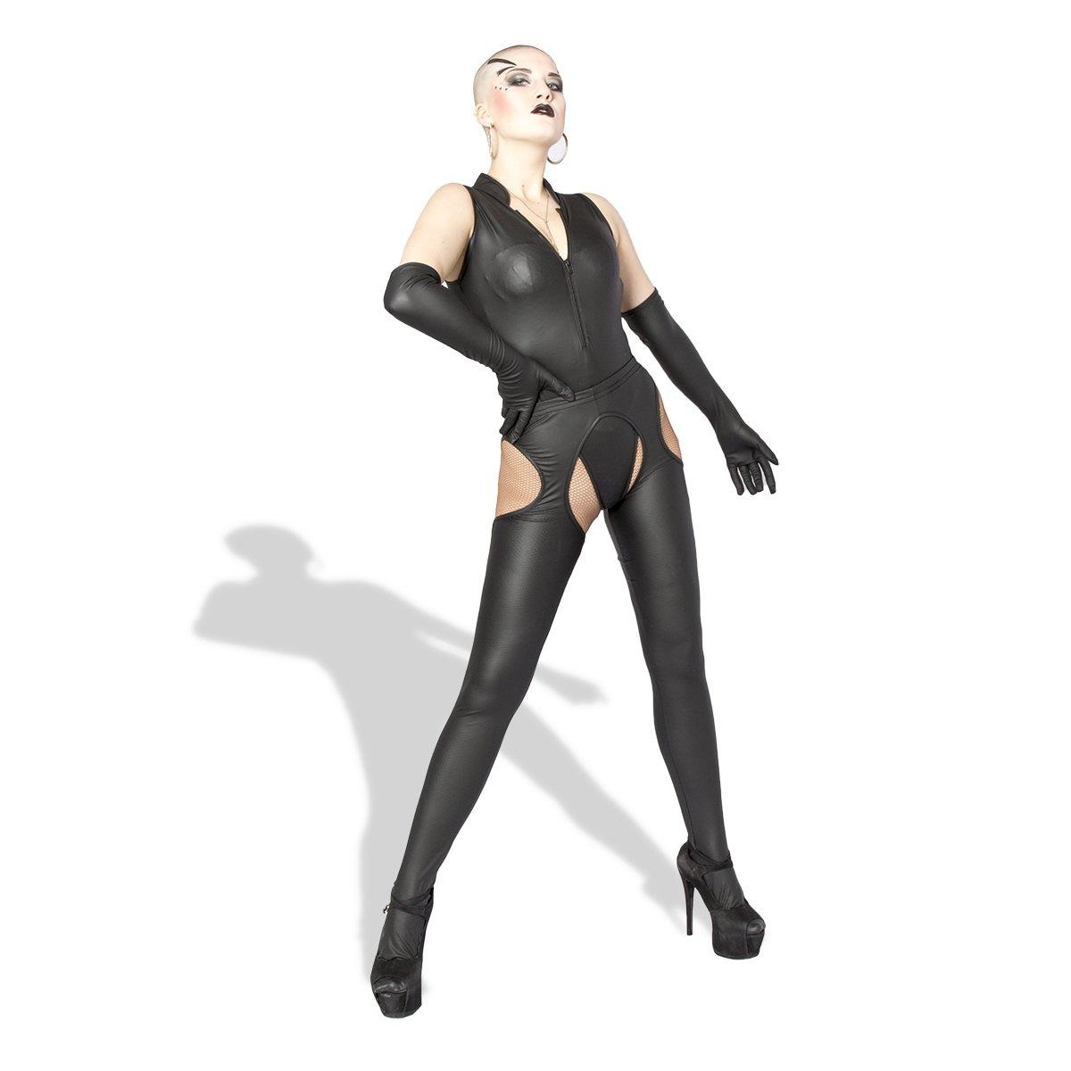 Ropa De Esclavitud, Ropa Interior Sexy De Cuero Cuero De De PVC Negro Charol Recubierto De 3 Piezas De Discoteca Espectáculo De Baile De Poste, Ropa Par BDSM 379152