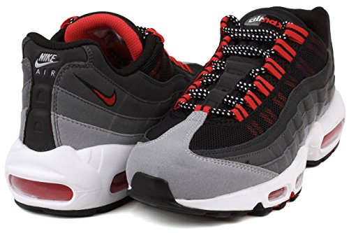 95 Max Air NIKE Cool Premium Wolf Men's Grey Running Shoe Red Grey Chilling axaCtwgTq