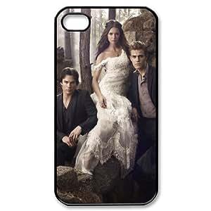 Creative Custombox The Vampire Diaries Iphone 4/4s Case Plastic Hard Phone case-iPhone 4-DF00877