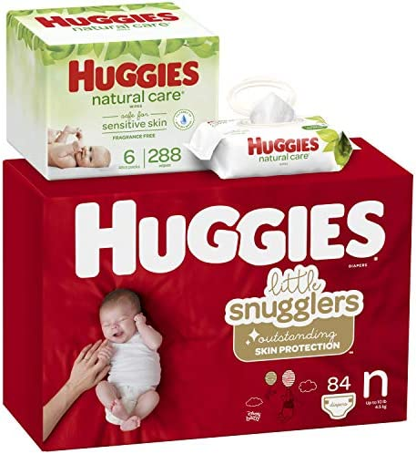 Huggies Brand Bundle Snugglers Disposable