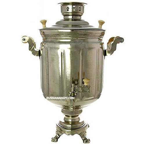 Faceted Cylinder (Electric samovar 10 liters plated