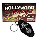 Bates Motel Keychain | Small Key Tag from the Iconic Movie Psycho | Horror Movie Collectible