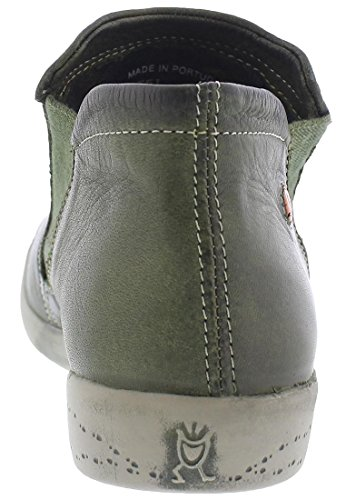 Womens Inge Leather Boots Grün Softinos ad8pWa