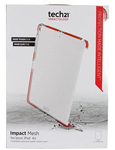 Original Tech21 Impactology Impact Mesh Case Cover For Apple iPad Air - Clear
