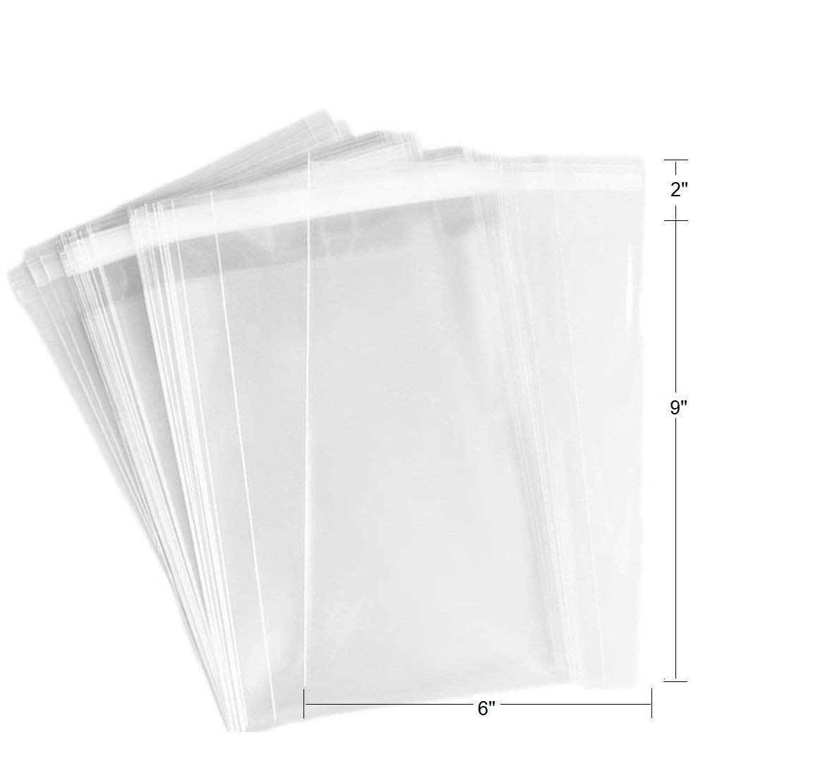 3 x 4 Cookie,jewelry items bags. Candle Soap FlanicaUSA 100 pcs Clear Flat Resealable Cello// Cellophane Bags Good for Bakery