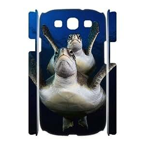 Sea Turtle Unique Design 3D Cover Case for Samsung Galaxy S3 I9300,custom cover case ygtg565520