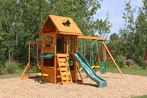 Big Backyard F270855 Ridgeview Clubhouse Deluxe Play Set by Big Backyard (Image #7)