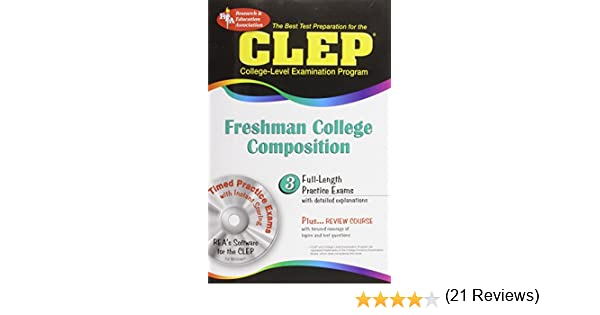 CLEP Freshman College Composition (CLEP Test Preparation): Editors ...