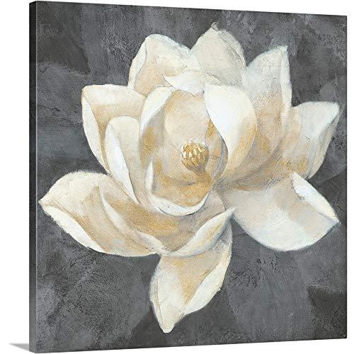 GREATBIGCANVAS Gallery-Wrapped Canvas Entitled Majestic Magnolia Neutral by Albena Hristova ()