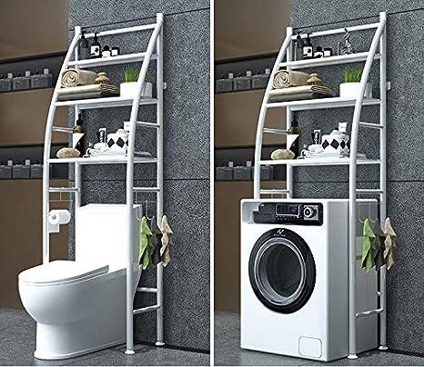 T-LoVendo TLV-0026S Estanteria sobre Inodoro WC Cuarto Baño ...