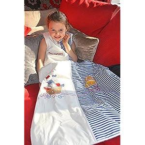 Slumbersafe Toddler Summer Sleeping Bag approx. 1 Tog - Pirate - 18-36 months/LARGE