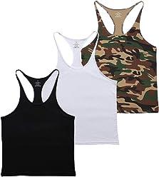 990547042fb08 MUSCLE ALIVE Blank Bodybuilding Stringer Tank Tops Men Cotton