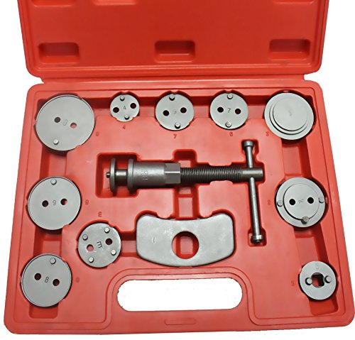 Cartman 12pcs Disc Brake Caliper Wind Back Tool Kit