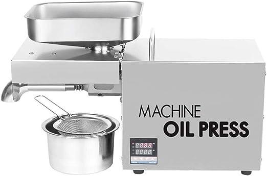 Inicio automático pequeña prensa de aceite Aceite expulsor del ...