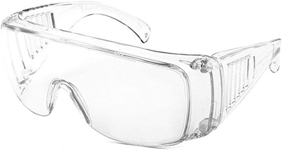 Pc Transparente Gafas De Seguridad Protección para Los Ojos Gafas Antipolvo Y De Choque Ocular Transparente