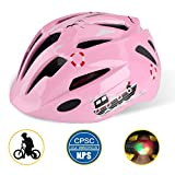 Cheap Shinmax Kids Bike Helmet, Adjustable CPC Certified Bike Helmets with Safety Light Protective for 3-8 Old Boys&Girls