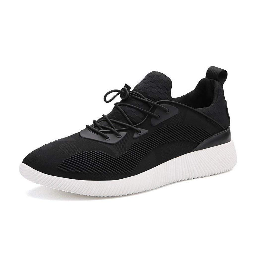 FuweiEncore Turnschuhe der Männer Laufende Athletische gehende Schuhe Sportschuhe der Koreanischen Männer Fliegende Gesponnene Breathable Schuhe Mode-Trend-Explosionen Wilde Flut-Schuhe