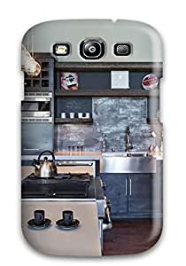 Durable Open Modern Industrial Kitchen With Dark Color Pallet Back Case/cover For Galaxy S3