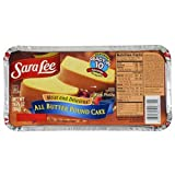 Sara Lee Pound Cake, 10.75 Ounce - 12 per case.