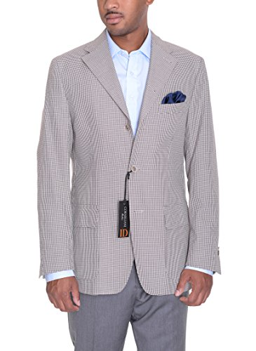 corneliani-id-40r-brown-cream-houndstooth-three-button-blazer-sportcoat-italy