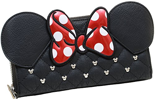 loungefly-disney-minnie-mouse-ears-bow-zip-around-wallet