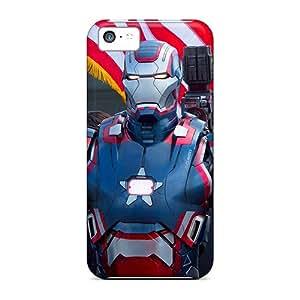 Fashion TxkpEKR3783ywqUC Case Cover For Iphone 5c(war Machine)