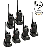 Galwad 888S Walkie Talkie Amerteur Two Way Radios Long Range handset (6 in Pack)