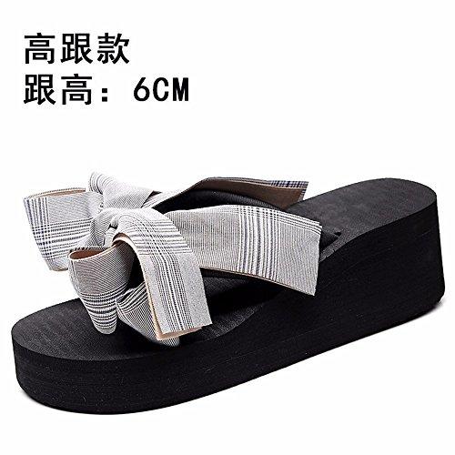 Verano para d Aire con Remolque al Moda de y Sandalias para Primavera pellizco Patas Antideslizantes de Zapatillas Libre YMFIE Mujer tg0qww