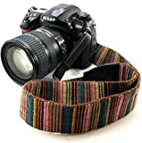 Bailsy cai-neck strap Camera Strap Bohemia Shoulder Neck Universal Camcorder Belt Strap for All DSLR Camera Nikon Canon Sony Olympus Samsung Pentax Fujifilm Colorful