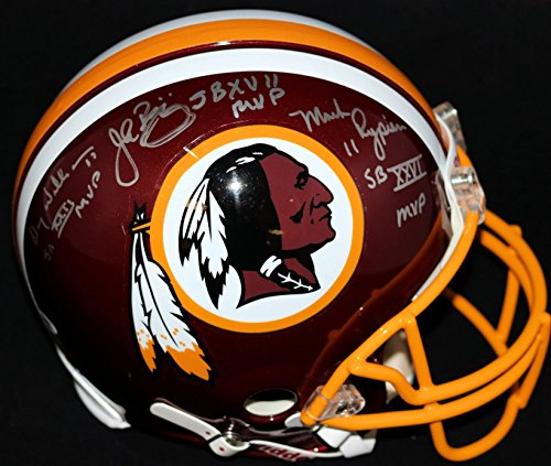 Washington Redskins Super Bowl MVP Multi Signed Helmet (autographed by all -