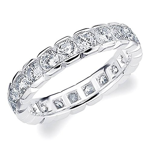 2.00 CT Eternity Ring in 10K W