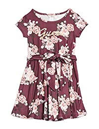 Guess Factory Zoey Floral-Print Skater Dress (2-6)