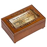Cottage Garden The Most Valuable Woodgrain Petite Rose Music Box / Jewelry Box