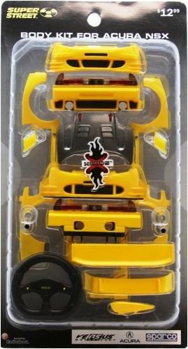 Amazon Com Xmods Super Street Body Kit For Yellow Acura Nsx Toys