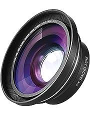 Andoer 30mm 37mm 0.39X Full HD Groothoek Macro Lens voor Ordro Andoer Digitale Video Camera Camcorder