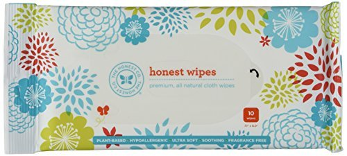 The Honest Company Baby Wipes - Travel Size - 8 Packages of 10 Ct