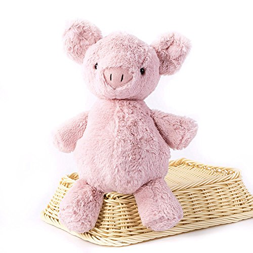 katedy-102-cute-animals-plush-toys-baby-calm-stripe-doll-stuffed-pink-pig-birthday-gift-bag-portable