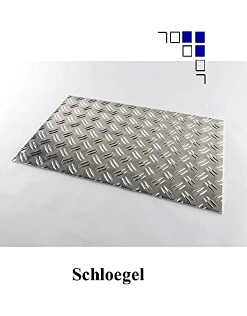 5/mm in lamiera di acciaio/ /lunghezza 500/mm/ /Larghezza a scelta